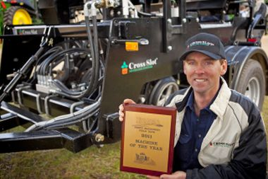 David Cook at Henty Machinery Field Days